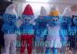 供应上海卡通服装,卡通人偶服装,动漫人偶服装,道具服装蓝精灵